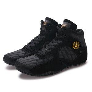 Туфли мужские Противоскользящие, профессиональная обувь для бокса и борьбы, MMA Stong grip, для тренировок, для бокса