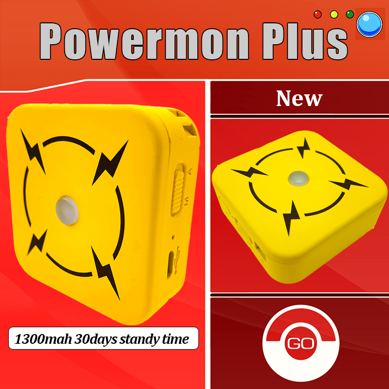 Auto Catch For Pokemon Go Beyond Device Bluetooth Bracelet Wristband With Rechargeable Battery Powermon Plus +Luxury Bag