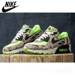 Zapatillas de deporte para exterior NIKE AIR MAX 90, zapatillas de correr originales de camuflaje, calzado Unisex para hombre Max90