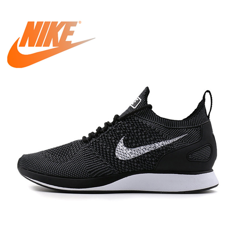 Original Authentic Nike AIR ZOOM MARIAH FLYKNIT Men's Breathable Running Shoes Sport Outdoor Sneakers 2018 New 918264-001