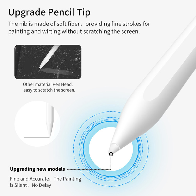 Image 2 - GOOJODOQ for Apple Pencil 2 for iPad Pencil Stylus Pen for iPad  Pro 11 Pencil Pro 12.9 /9.7 2018 2019 Mini 5 with Palm RejectionTablet  Touch Pens