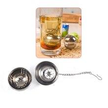 Tea Filter Tea Strainer Ball Mesh Loose Leaf Herb Infuser Stainless Steel Secure Locking Tea Leaf Spice Home Kitchen Accessorie