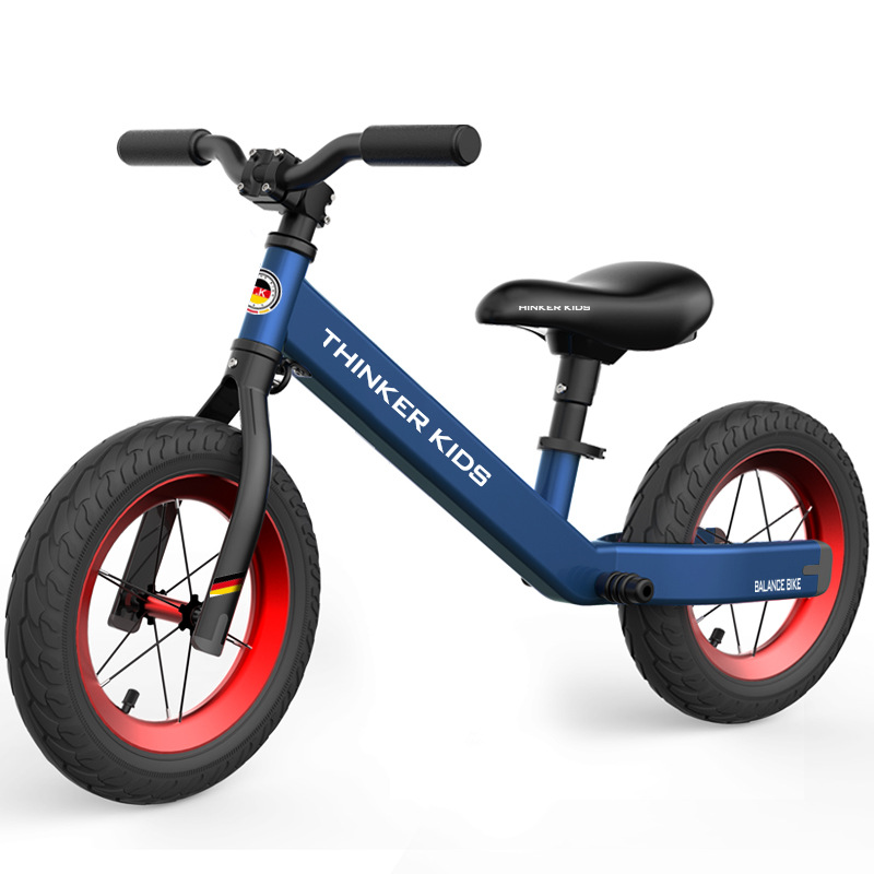 Детский беговел, детские ходунки, велосипед для езды на игрушках, два колеса, подарок для детей 1 5 лет, обучающий прогулочный гоночный раздви... - 2