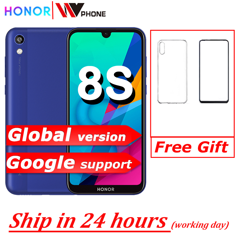 Honor 8S Fullview 64gb 3gb GSM/LTE Face Recognition 13MP New Mobile-Phone Quad-Core Global-Version