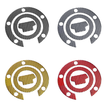 Carbon Fuel Gas Oil Cap Tank Pad Protector Sticker For Yamaha R1/R6 FZ1 FZ6 FZ6N/8N/09 FZ1000 BT1100 FJR1300 MT07/09 TDM900 image