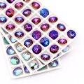 Переливающаяся серия, 8 цветов, оформление драгоценных камней - фото