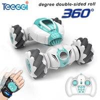 Teeggi S-012 RC Stunt-Auto 2,4G Fernbedienung Auto Stunt Drift Geste Induktion 360 Grad Verdrehen Tanzen Off-straße Spielzeug Geschenk