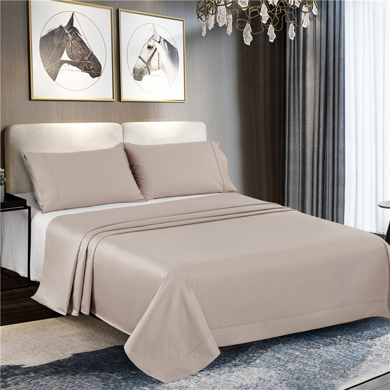 Bed Flat Sheet White Solid 100/% Cotton 800 Thread Count Bedding Flat Sheets***