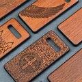Деревянный чехол для Samsung Galaxy S10 S9 Plus Note 10 Plus Note 8 9  деревянный ТПУ мобильный телефон  чехлы  чехол для задней панели