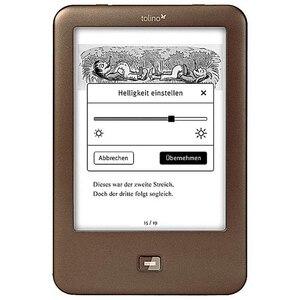ebook reader e ink e reader Light electronic Book 6 inch e-ink e book reader 1024x758 backlight 4GB e-book Reader Tolino Shine(China)