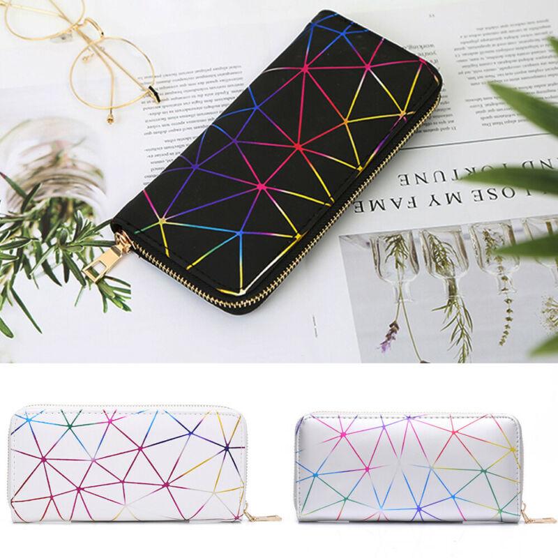 2020 New Fashion Women Wallet Soft PU Leather Zipper Wallet Long Women's Clutch Wallet Female Designer Coin Card Purse