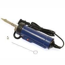 Bomba de succión eléctrica de estaño para desoldar, 30W, 220V, 50Hz, soldadura con ventosa, pistola de hierro, succión de estaño, herramientas de soldadura