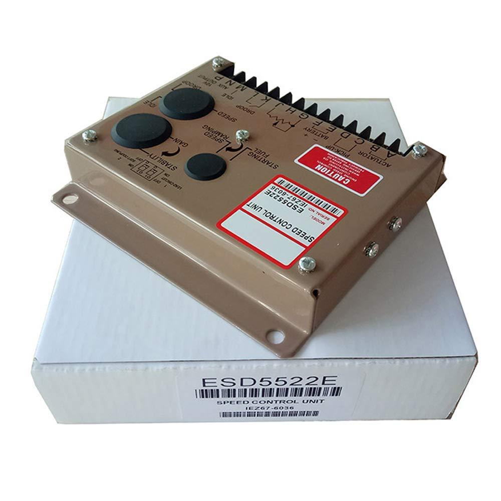 Diesel Generator Engine Speed Controllor ESD5522E Speed Governor Unit