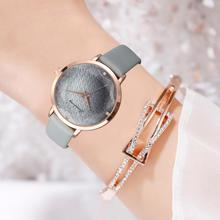 Top Brand Women Watches Luxury Casual Leather Strap Rhinestone Exquisite Ladies Clock Watch Relojes Mujer