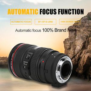 Image 5 - Meike MK C AF4 Electronic Auto Focus Adapter Ring Extension Tube for Canon EOS M Mount Cameras Cam to EF EF S Lens Adapter Ring