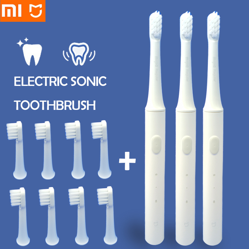 Xiaomi Sonic Electric Toothbrush ultrasonic automatic toothbrush Cordless USB rechargeable waterproof teethbrush xiaomi MIJIA 5