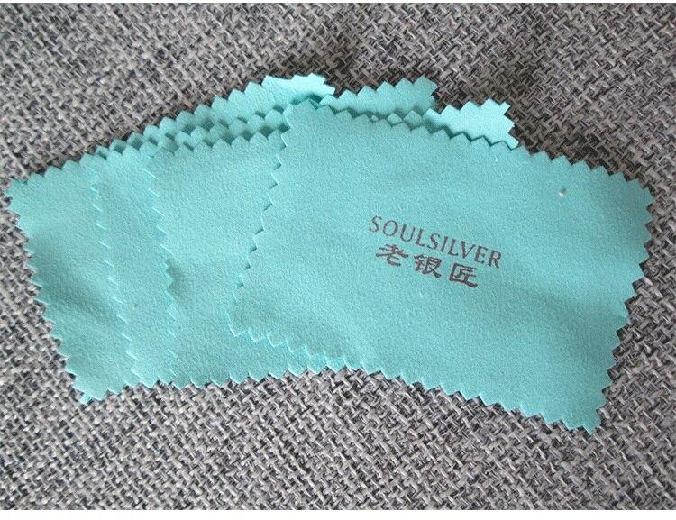 500x качество ювелирных изделий очистка полировальная ткань