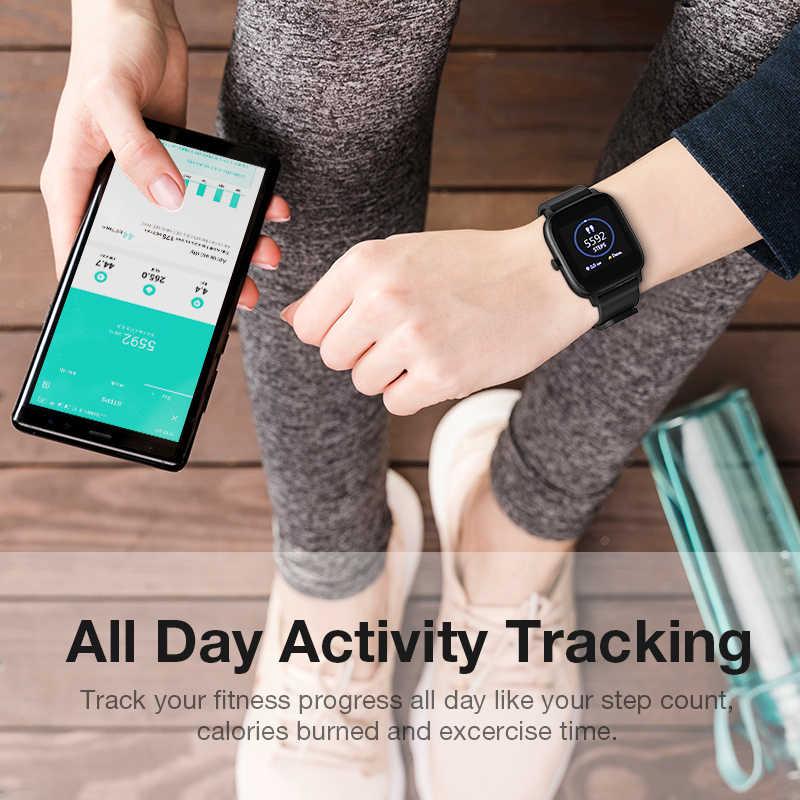 2020 SANLEPUS montre intelligente Sport moniteur de fréquence cardiaque étanche Fitness Bracelet hommes femmes Smartwatch pour Android iOS Apple Xiaomi