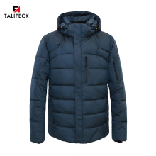 QUILTED Jacket Winter Coat New-Collection Warm Men Fashion Cotton European-Size