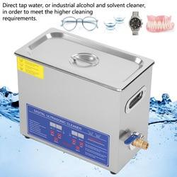 6L Edelstahl Liter Industrie Beheizten Ultraschall Reiniger Heizung mit Timer ultrasonidos limpiador nettoyeur ultrason