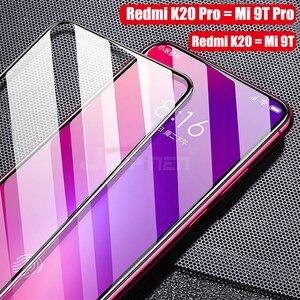 Image 5 - 6D полное клеевое Покрытие Закаленное стекло для Xiaomi Poco X3 F2 Pro Redmi 9 K30 ультра стекло для Mi 10T 9T Redmi Note 9 8 Pro Max 8 8T 9S
