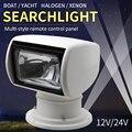 Лодочный прожектор с дистанционным управлением 12 в 24 в 100 Вт, лампочка для яхты, прожектор, морской прожектор, наборы для грузовых автомобиле...