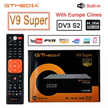 HD 1080P DVB-S2 GTmedia V9 Super European Cable Spanish Sate