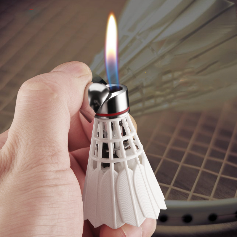 Creative Bowling Cigarette Lighter gas Lighter Turbo Lighters smoking accessories Gadgets For Men Creative Electronic Lighters
