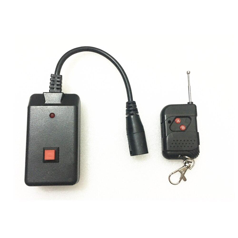 Portable 3 Pins XLR Wireless Remote Control Receiver For 400W 500W 900W 1200W 1500W Stage Smoke Fog Machine With Indicator Light