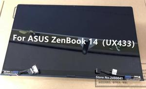 Image 2 - Free Shipping New for ASUS ZenBook 14 Lingya Deluxe14 UX433FN UX433FA UX433 LCD screen assembly 1920X1080 resolution