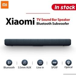 Xiaomi TV звуковая панель динамик bluetooth Бас Сабвуфер беспроводной 3,5 мм AUX аудио SPDIF воспроизведение музыки для ПК кинотеатра ТВ Игры фильма