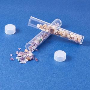 Image 5 - Pandahall 100 adet şeffaf plastik tüp Boncuk Konteynerler depolama şişesi Takı Ambalaj Kavanoz yaklaşık 78mm uzun, 13mm genişliğinde F60
