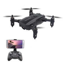 Mini Folding Drone Professional HD Camera Remote Control Aircraft Quadcopter Altitude Hold Remote Control Helicopter Toys 2019