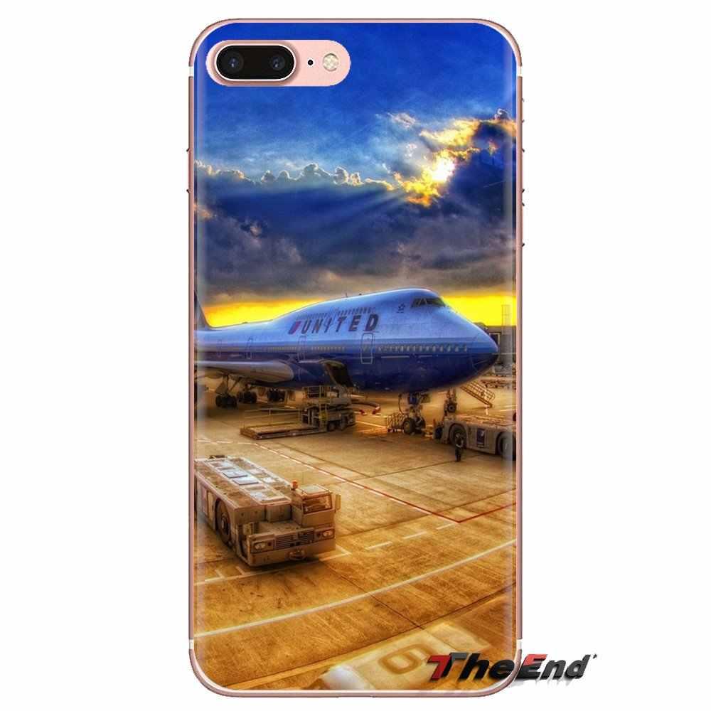 For Huawei G7 G8 P7 P8 P9 P10 P20 P30 Lite Mini Pro P Smart Plus 2017 2018 2019 Airport Transparent Soft Cases Covers