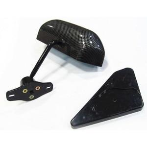 Image 5 - สำหรับ 88 91 Honda CRX F1 สไตล์คู่มือปรับคาร์บอนไฟเบอร์ทาสีด้านข้างกระจก