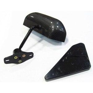 Image 5 - Para 350z 03 07 Z33 F1 Estilo Manual Ajustável fibra De Carbono olhar Vista Lateral Do Espelho