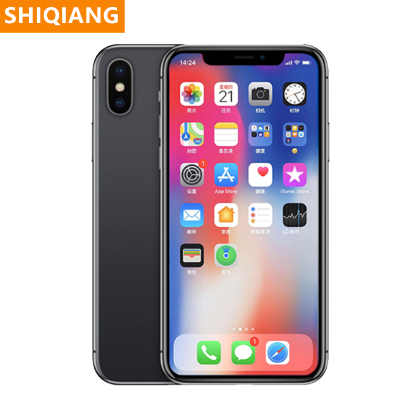 Used Original Apple iPhone X 3G+64/256GB 5.8inch Smartphone iOS Hexa core 12.0MP Dual Back Camera Unlocked 4G LTE Mobile Phone