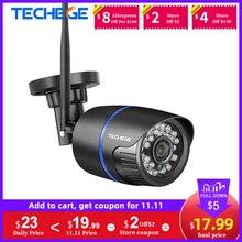 Techege 1080P WIFI IP 카메라 오디오 기록 2.0MP 무선 카메라 야외 Onvif 나이트 비전 방수 카메라 TF 카드 RU ES 재고