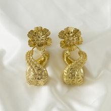 SUNNICE – boucles d'oreilles longues pour femmes, bijoux en or, accessoires, cadeau de mariage, 2020