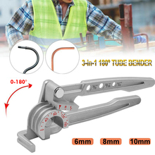 Three-in-One Manual Elbow Can Bend Thin Pipes Such As Hoses, Copper Pipes, Aluminum Pipes, Soft Iron Steel Pipes, Etc.