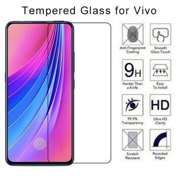 Перейти на Алиэкспресс и купить 9H HD закаленное защитное стекло для VIVO K1 S1 Pro для телефона VIVO V3 Max V5 Plus V9 V11 V15 Pro защитное стекло