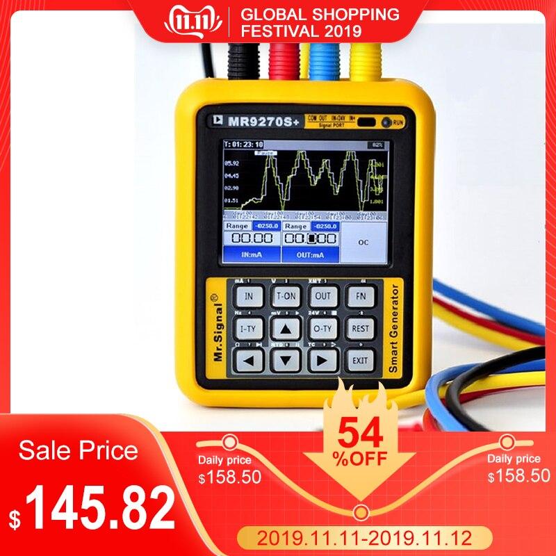 Atualizado mr9270s + 4-20ma calibração do gerador de sinal tensão atual pt100 termopar transmissor de pressão freqüência pid