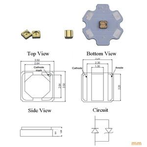 Image 2 - 310nm UV Led smd3535 1,5 2,0 mW para dispositivos médicos