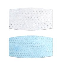 Round Square Dust Proof Anti Haze Disposable Inner Pads Filter for Mouth Mask Protective Mask Pads Filter for Mouth Mask 500pcs bag univeral mask respirator filter pads disposable antivirus smog prevention changeable pads for mask pads