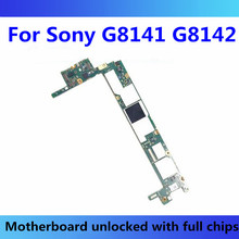For Sony Xperia XZ Premium G8141 G8142 Motherboard With Chips For Sony Xperia Logic Board G8141 G8142 Android Test