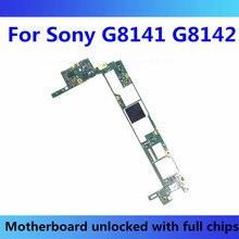 Para Sony Xperia XZ Premium G8141 G8142 Placa base con Chips para Sony Xperia placa lógica G8141 G8142 probar Android