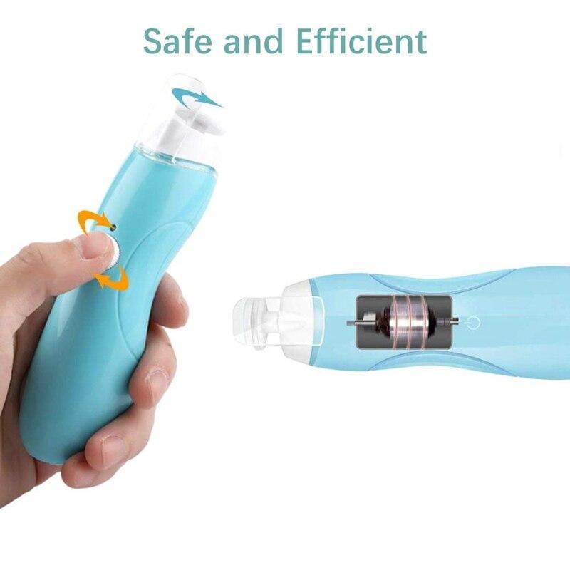Bebê aparador de unhas recarregável, seguro elétrica