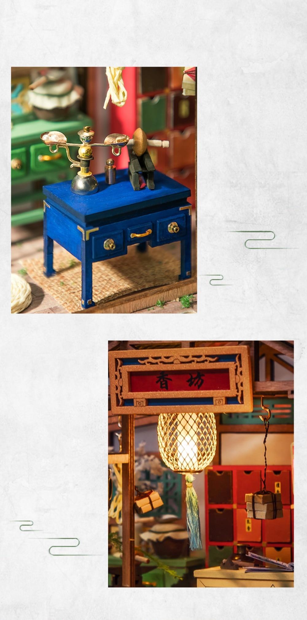 Robotime SN007 Nanci DIY House