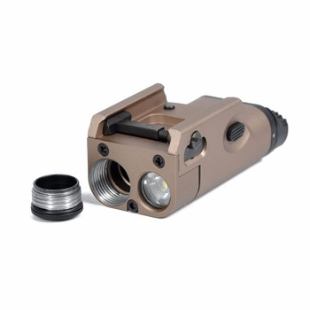 Glock Gun Flash Light Tactical Torch Flashlight with Release 20mm Mount for Pistol Airsoft For GLOCK 17 18C 19 25 26