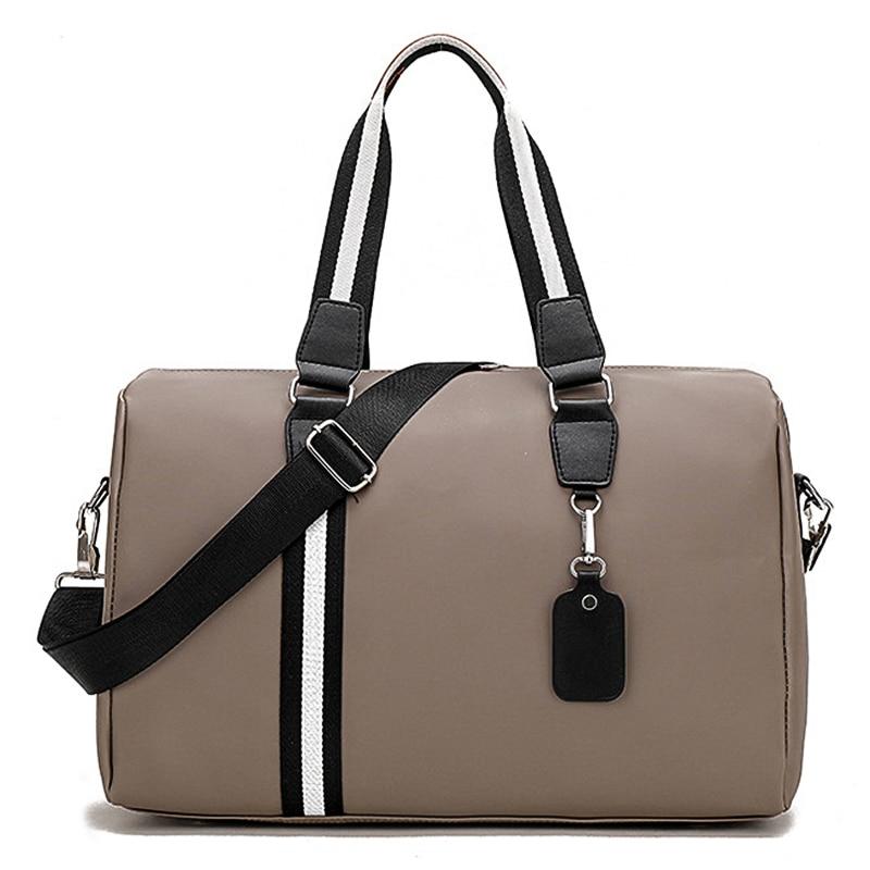 Women's Travel Yoga Handbags Training Sports Gym Bag Waterproof Fitness Shoulder Nylon Crossbody Bags Women Sac De Sport